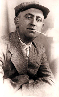הדוד ברל, אח של אמא, בלומקה גוטנסקי