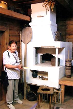 פינה במוזיאון במוטלה. 2005