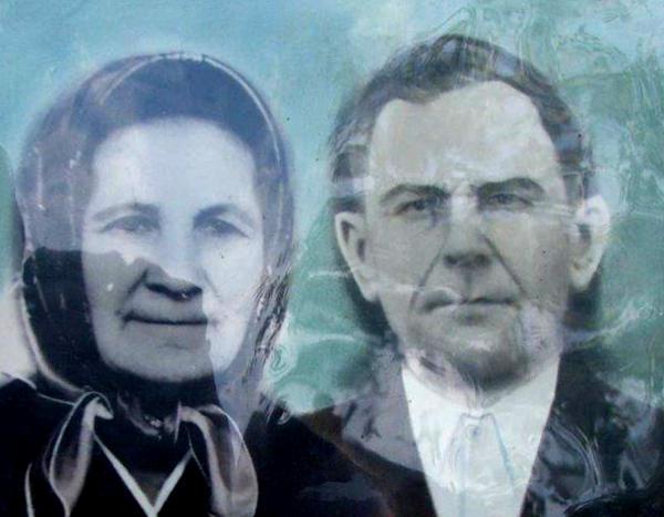 אלכסיי פופיל ואשתו