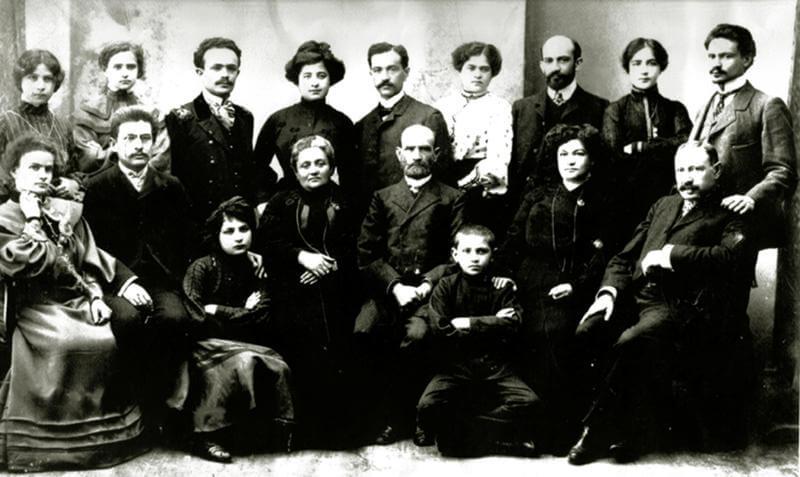 משפחתה של מינה וייצמן